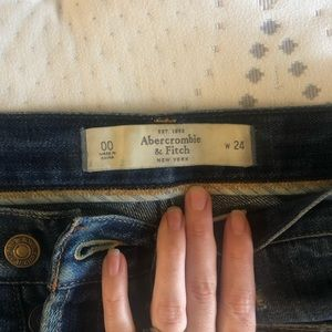 Abercrombie & Fitch Shorts - Abercrombie & Fitch Jean shorts